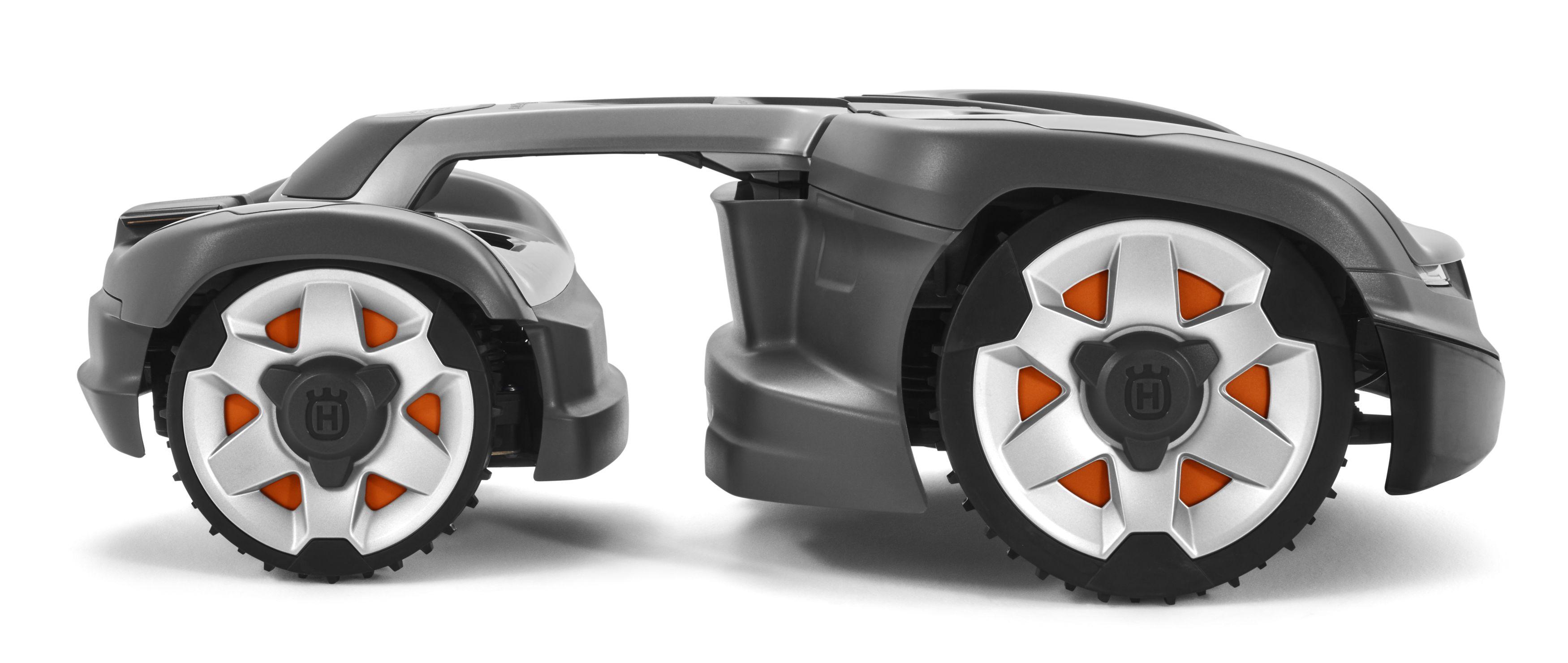 Jetzt erhältlich-der erste Allrad-Mähroboter der Welt!